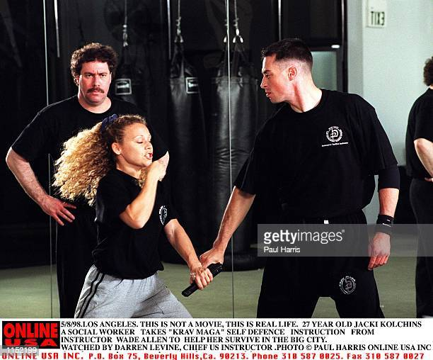 Los Angeles This is not a movie this is real life 27 year old social worker Jackie Kolchins watched my cheif USA Krav Maga instructor Darren Levine...