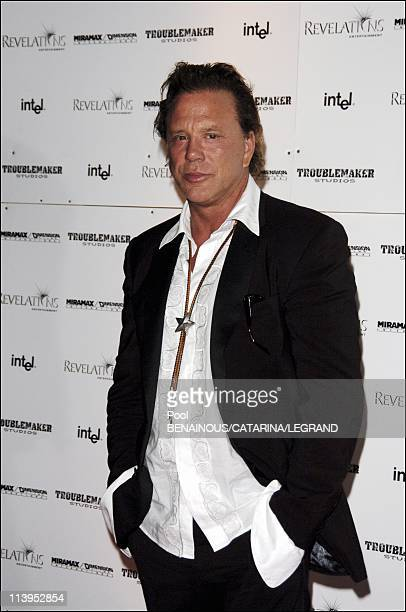 58th Cannes Film Festival Sin City Party at the Palm Beach Casino in Cannes France On May 18 2005Mickey Rourke