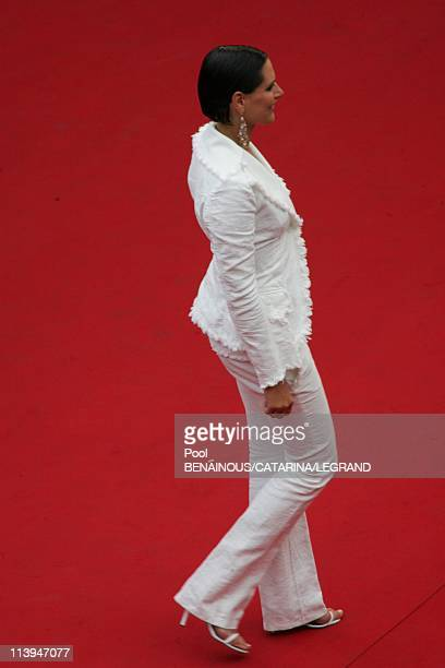 58th Cannes Film Festival Stairs of 'Lemming' In Cannes France On May 11 2005Laeticia Bleger