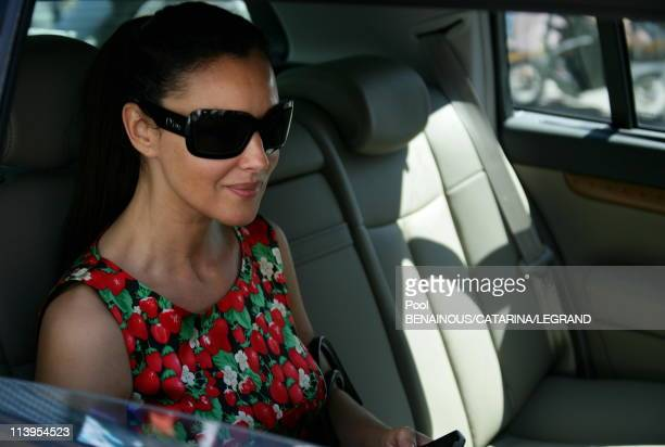 59th Cannes Film Festival Celebs at the Martinez hotel in Cannes France on May 26 2006Monica Bellucci