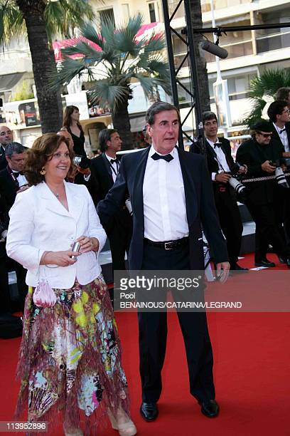 59th Cannes Film Festival Stairs of 'Indigenes' in Cannes France on May 25 2006Bernard Menez