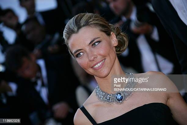 59th Cannes Film Festival Stairs of 'Marie Antoinette' in Cannes France on May 24 2006Nathalie Vincent