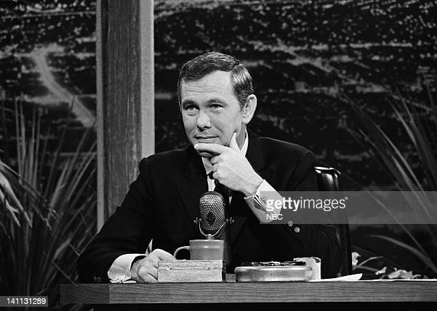 CARSON '5th Anniversary' Pictured Host Johnny Carson on the 5th Anniversary October 2 1967 Photo by Frank Carroll/NBC/NBCU Photo Bank