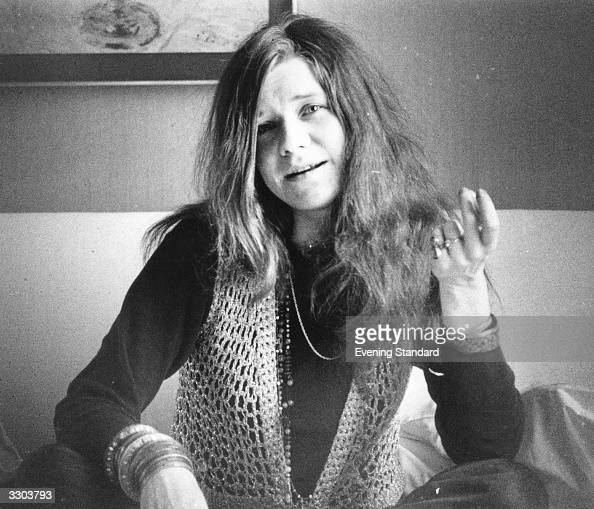 American bluesrock singer Janis Joplin of the group Big Brother and the Holding Company