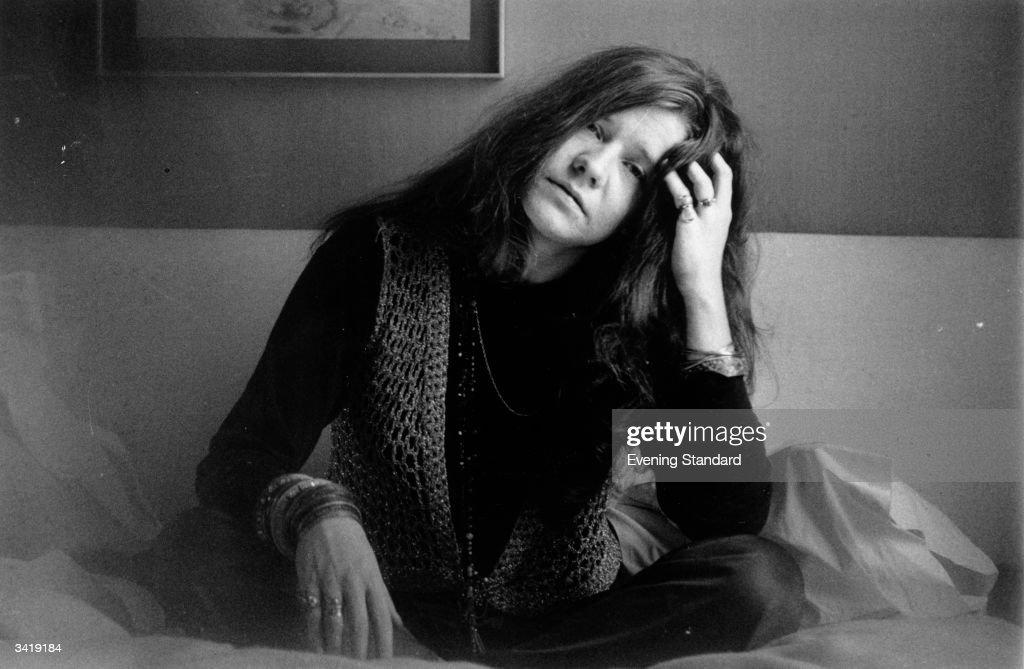 Rock singer Janis Joplin