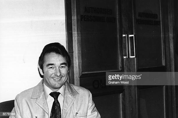 Brian Clough the footballer and manager of Derby County and Notts Forest