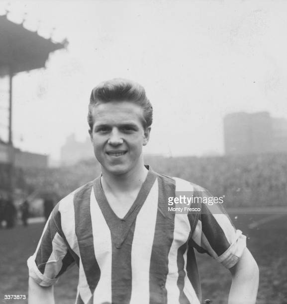 Sheffield Wednesday FC insideright soccer player Albert Quixall