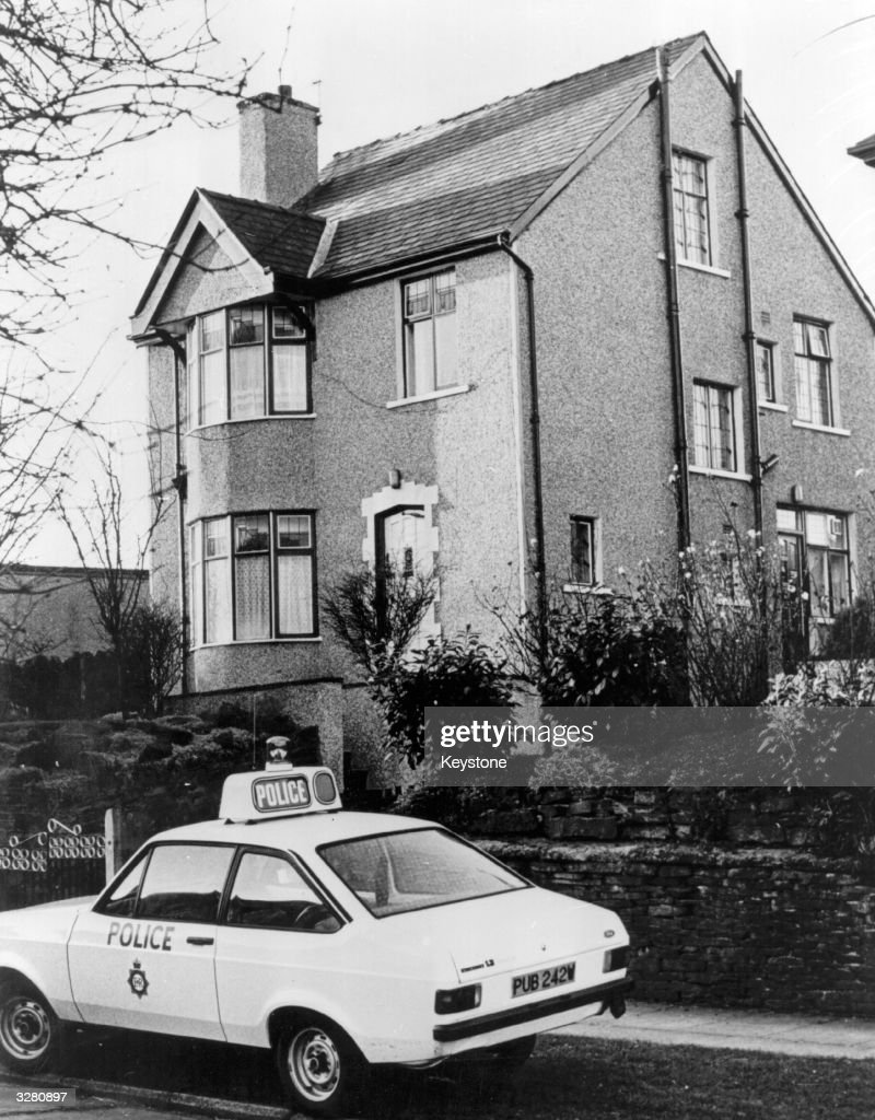 The house in Garden Lane, Bradford where Peter William Sutcliffe, 'The Yorkshire Ripper' lived.