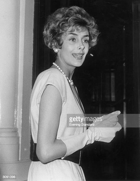British leading actress Kay Kendall