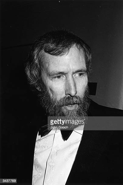 Jim Henson the creator of the muppets at the Bafta awards at the Grosvenor Hotel London