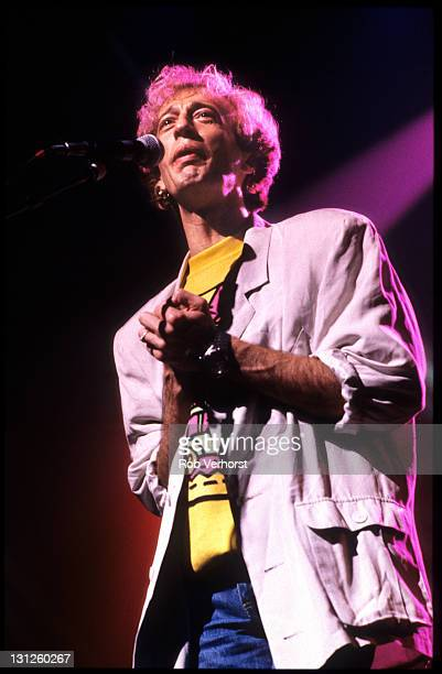 Robin Gibb from The Bee Gees performs live on stage at Ahoy in Rotterdam Netherlands on 5th May 1998