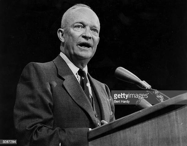 Dwight D Eisenhower the 34th President of the United States of America Original Publication Picture Post 8718 They Still Like Ike pub 1956