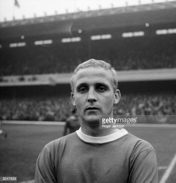 Everton FC player Alex Young
