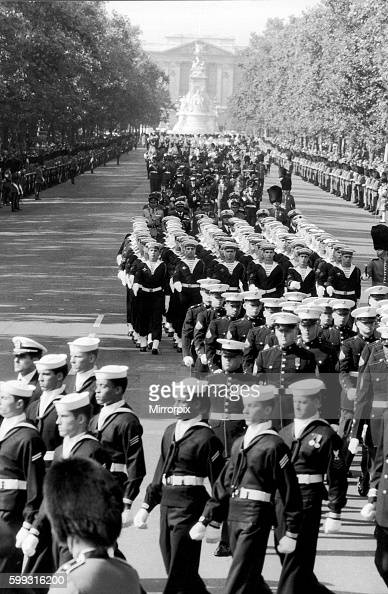Lord Mountbatten Funeral Stock Photos and Pictures   Getty ...
