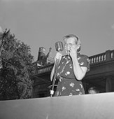6/11/1953New York NY Mrs Sophie Rosenberg addressed a rally at Union Square today and made an impassioned appeal to President Eisenhower to save the...