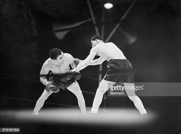 6/19/1936Yankee Stadium NYThere is no superman in fistiana and Der Schlager Max Schmeling is the boy who can prove itin spadesHere is a scene from...