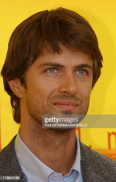 61st Venice Film Festival Photo call of 'Le Chiavi di Casa' In Venice Italy On September 09 2004Italian Actor Kim Rossi Stuart