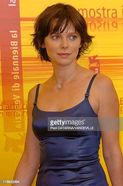 61st Venice Film Festival Photo call of 'Ovunque Sei' In Venice Italy On September 06 2004Barbora Bobulova