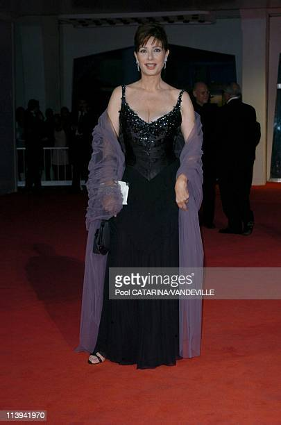 61st Venice Film Festival Premiere of 'The Merchant of Venice' In Venice Italy On September 04 2004Edwige Fenech