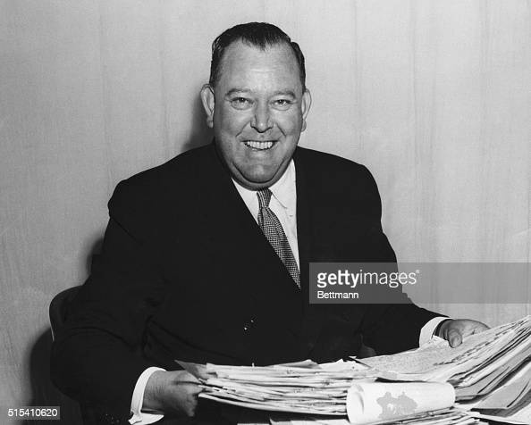 6/23/1950Lake Success New York Mr Trygve Lie SecretaryGeneral of the UN just before a broadcast for the UN Correspondence Association rereads some...