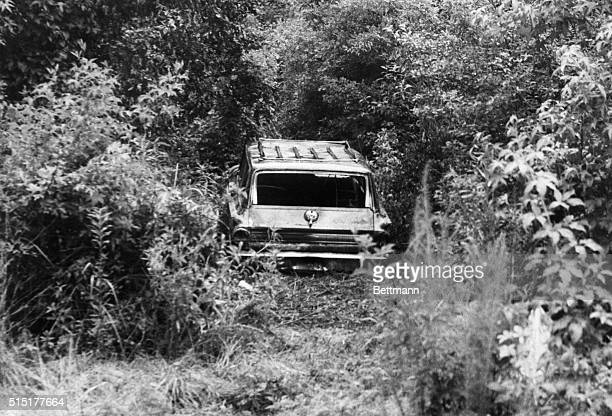 6/23/1964Meridian MS This station wagon belonging to three young civil rights workers who disappeared late Sunday at nearby Philadelphia on State...