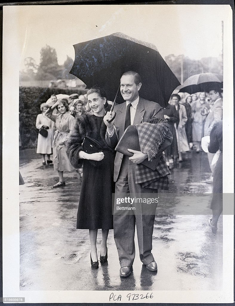 Barbara Hutton with Baron Von Cramm