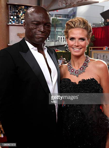 THE 62nd PRIMETIME EMMY AWARDS Pictured Seal and Heidi Klum arrive at The 62nd Primetime Emmy Awards held at the Nokia Theatre LA Live on August 29...