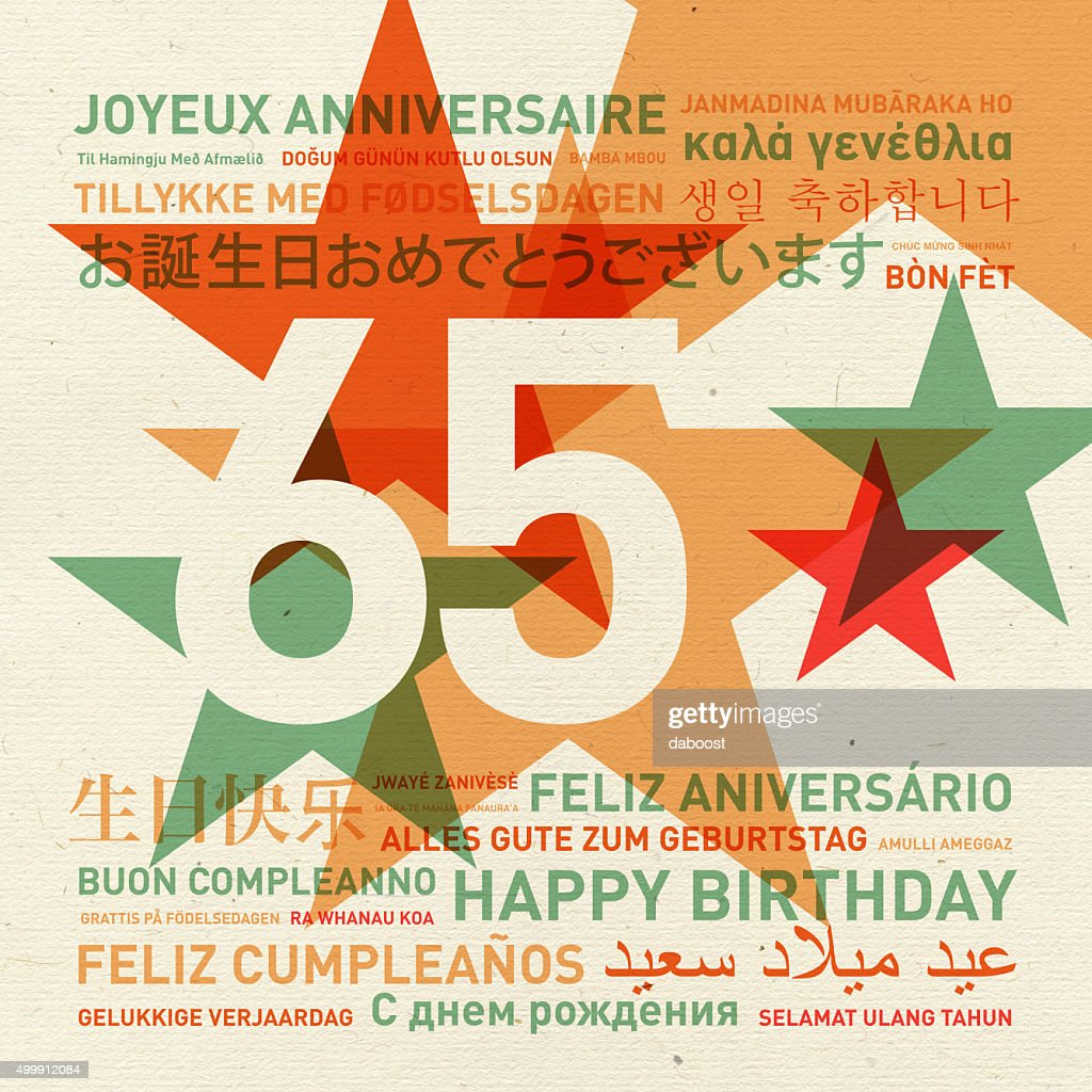 Gratulation zum geburtstag 65