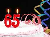 65th. Anniversary - Retirement