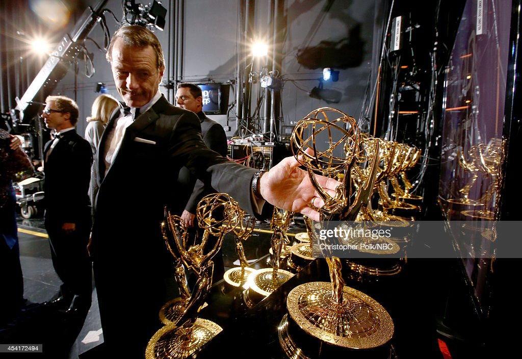 66th ANNUAL PRIMETIME EMMY AWARDS Pictured Actor Bryan Cranston winner of the award for Outstanding Lead Actor in a Drama Series attends the 66th...