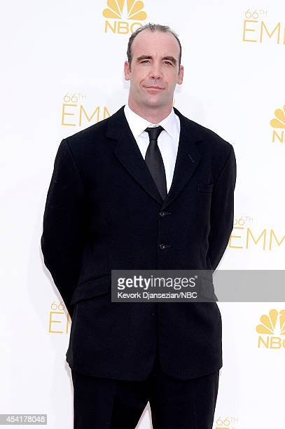 66th ANNUAL PRIMETIME EMMY AWARDS Pictured Actor Rory McCann arrives to the 66th Annual Primetime Emmy Awards held at the Nokia Theater on August 25...