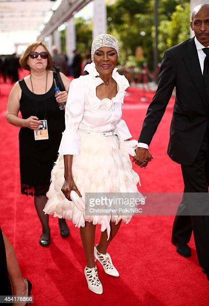 66th ANNUAL PRIMETIME EMMY AWARDS Pictured Actress Cicely Tyson arrives to the 66th Annual Primetime Emmy Awards held at the Nokia Theater on August...