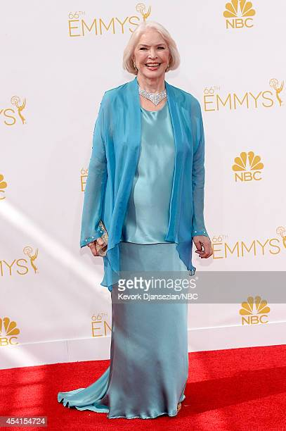 66th ANNUAL PRIMETIME EMMY AWARDS Pictured Actress Ellen Burstyn arrives to the 66th Annual Primetime Emmy Awards held at the Nokia Theater on August...