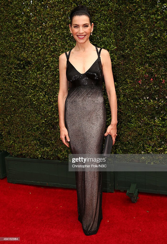 66th ANNUAL PRIMETIME EMMY AWARDS Pictured Actress Julianna Margulies arrives to the 66th Annual Primetime Emmy Awards held at the Nokia Theater on...