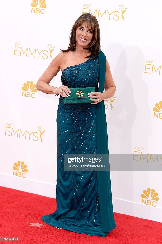 66th ANNUAL PRIMETIME EMMY AWARDS Pictured Actress Kate Linder arrives to the 66th Annual Primetime Emmy Awards held at the Nokia Theater on August...