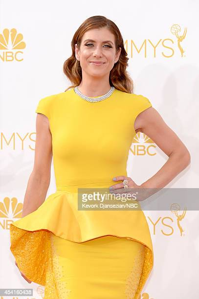 66th ANNUAL PRIMETIME EMMY AWARDS Pictured Actress Kate Walsh arrives to the 66th Annual Primetime Emmy Awards held at the Nokia Theater on August 25...