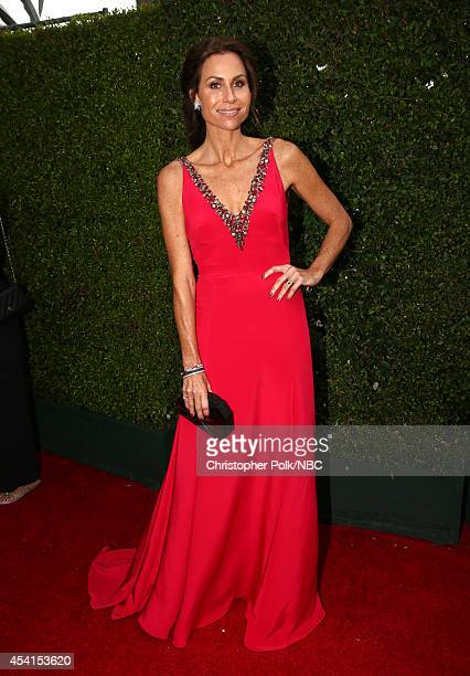 66th ANNUAL PRIMETIME EMMY AWARDS Pictured Actress Minnie Driver arrives to the 66th Annual Primetime Emmy Awards held at the Nokia Theater on August...