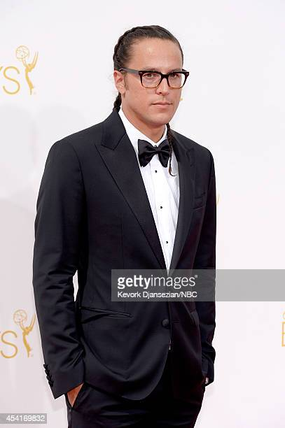 66th ANNUAL PRIMETIME EMMY AWARDS Pictured Diretor Cary Fukunaga arrives to the 66th Annual Primetime Emmy Awards held at the Nokia Theater on August...