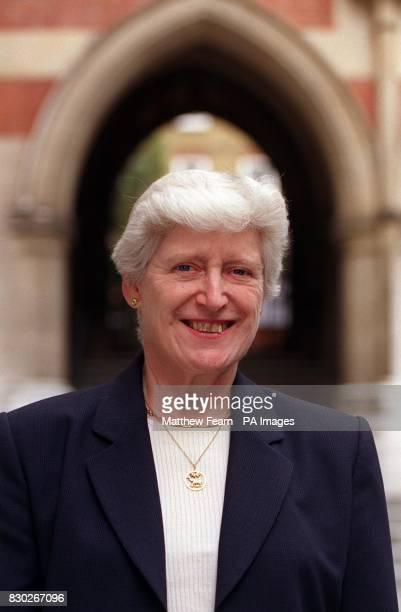 66yearold President of the Family Division at the High Court Dame Elizabeth ButlerSloss at the High Court in London where she announced her support...