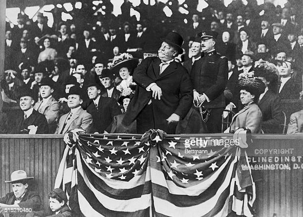 6/9/1910President Taft tossing out the first ball BPA2# 1968