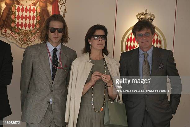 69th Formula One GP of Monaco in Monte Carlo Monaco on May 28 2006Prince Pierre Princess Caroline and Prince Ernst August of Hanover