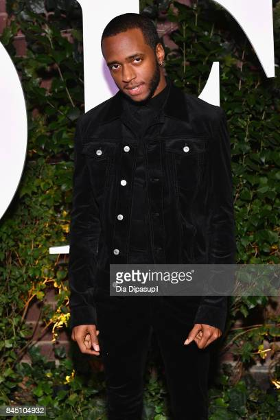 6lack arrives at the #BoF500 gala dinner during New York Fashion Week Spring/Summer 2018 at Public Hotel on September 9 2017 in New York City