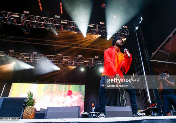 6lack performs at Grant Park on August 6 2017 in Chicago Illinois