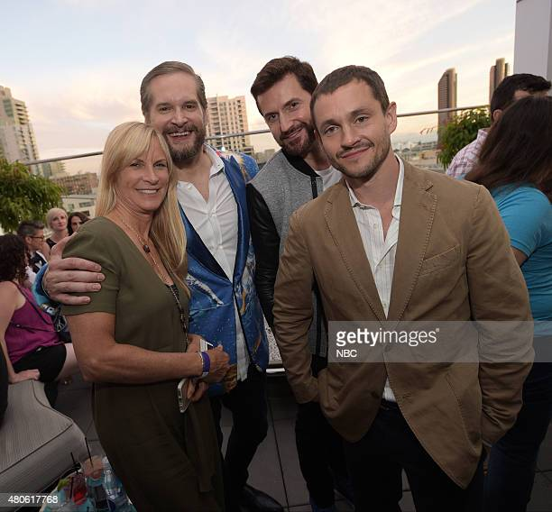 DIEGO 2015 '6th Annual Blogger Party' Pictured Martha De Laurentiis Executive Producer Bryan Fuller Executive Producer Writer Richard Armitage Hugh...