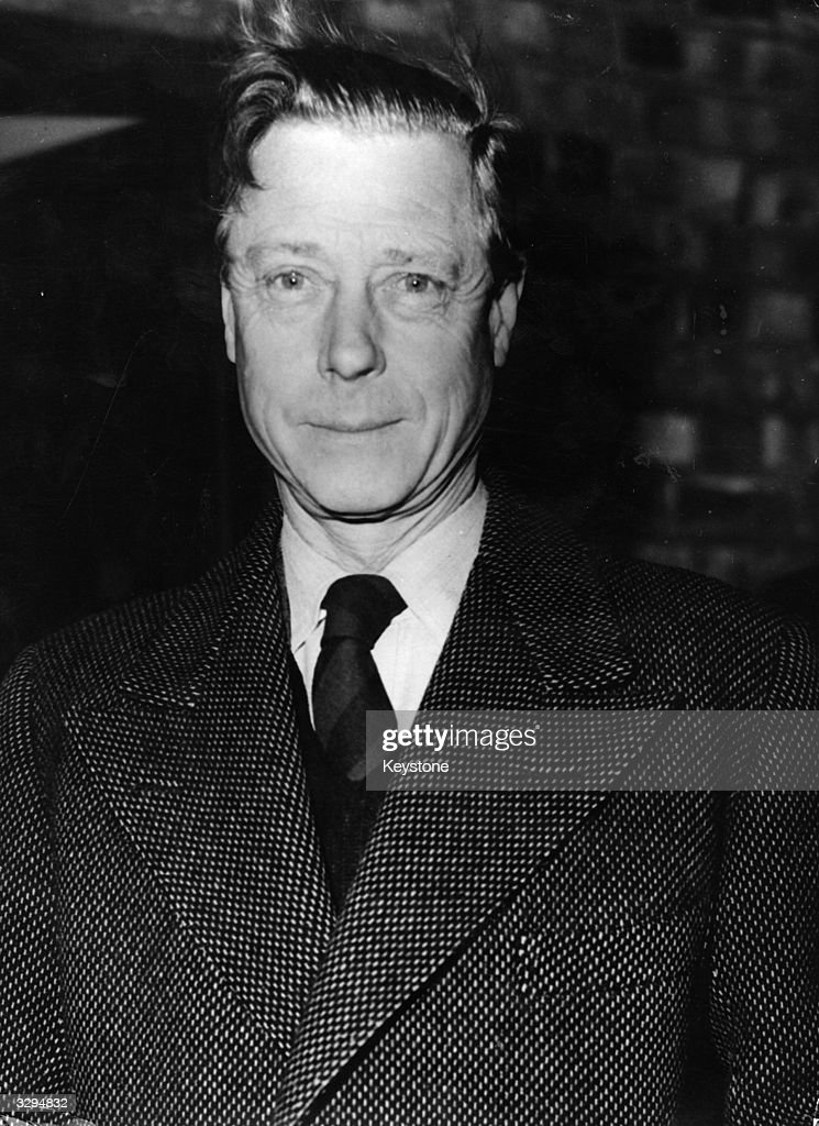 The Duke of Windsor, (1894 - 1972), on a visit to London. He reigned as King Edward VIII from January to December 1936 and was created Duke of Windsor after his abdication. He and the Duchess of Windsor live in France.