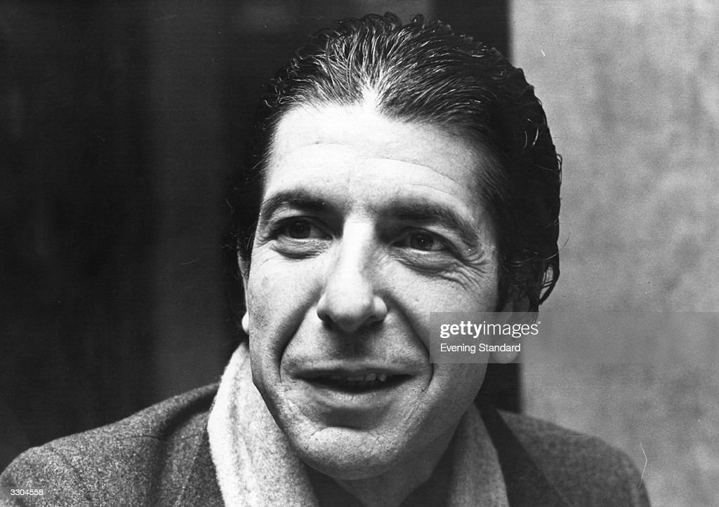 Canadian singer-songwriter Leonard Cohen at his hotel during a break in his British Tour, December 1979.