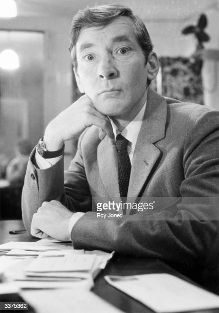 English comic actor Kenneth Williams best known and loved for his roles in the 'Carry On' films