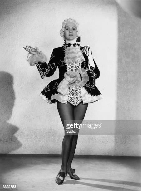 Actress Patricia burke as the Prince in a production of 'Cinderella' at London's Coliseum