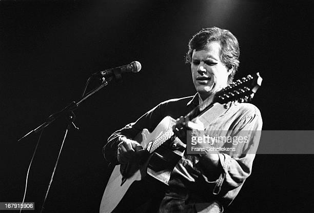 American guitarist Leo Kottke performs at the Melkweg in Amsterdam Netherlands on 6th November 1988