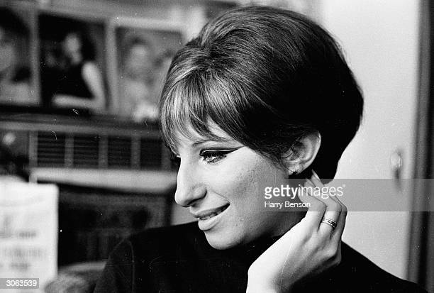 American actress and singer Barbra Streisand the star of 'Funny Girl'